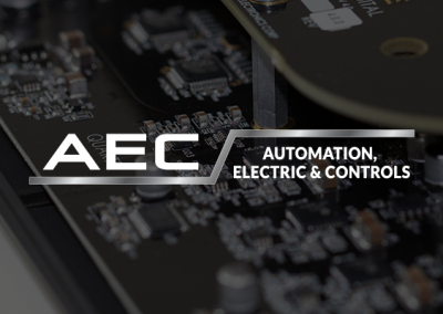 Refine Graphics - Logo Portfolio - AEC Automation, Electric, and Controls