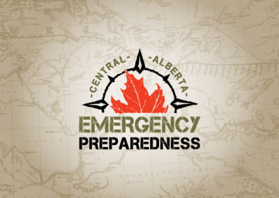 Refine Graphics - Logo Portfolio - Central Alberta Emergency Preparedness
